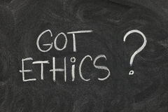 Got ethics ? Stock Image