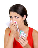 Got the Flu Stock Photos