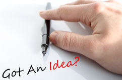 Got An Idea Concept Royalty Free Stock Image