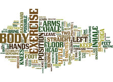 Got Only Minutes To Exercise Then Try This From Yoga Word Cloud Concept Royalty Free Stock Photos