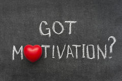 Got motivation Royalty Free Stock Photo