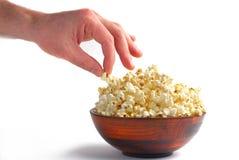 Got a popcorn Royalty Free Stock Photography