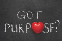 Got purpose heart royalty free stock photo