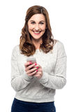 Got a text message ! Royalty Free Stock Images