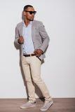 He got trendy look. Royalty Free Stock Photo