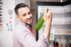 Got you my little refreshing friend! Royalty Free Stock Photo
