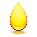 Gota ambarina Foto de Stock