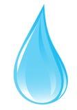 Gota clara del agua