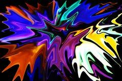 Gota colorida Imagenes de archivo