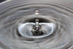 Gota congelada del agua Fotos de archivo libres de regalías