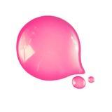 Gota cor-de-rosa líquida Imagem de Stock Royalty Free