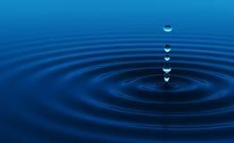 Gota da água Ilustração Stock
