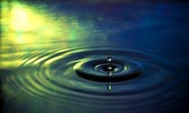 Gota da água. Imagens de Stock