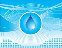 Gota da água Fotografia de Stock