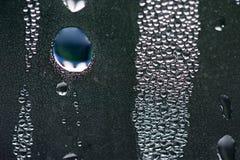 Gota da água azul Imagem de Stock Royalty Free