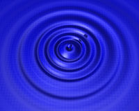 Gota da água com grade Foto de Stock