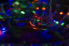 Gota da água da luz Fotos de Stock Royalty Free