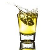 Gota da água de gelo dos vidros Fotografia de Stock Royalty Free