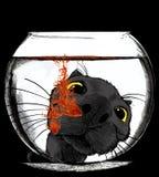 Gota da cor Ilustração Stock