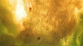 Gota da cor, bolhas que emergem filme