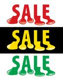 Gota da venda Imagens de Stock