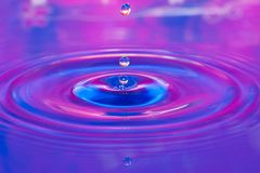 Gota de água Fotos de Stock Royalty Free