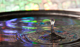 Gota de água Fotografia de Stock Royalty Free