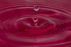 Gota de água Foto de Stock Royalty Free