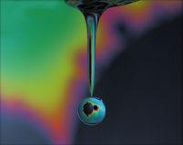 Gota de água do Fractal Foto de Stock Royalty Free