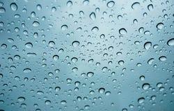 Gota de agua en ventana Foto de archivo