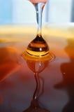 Gota de la miel Foto de archivo