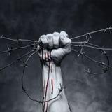 Gota de la sangre imagen de archivo libre de regalías