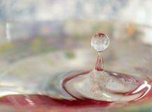 Gota de queda da água Imagem de Stock