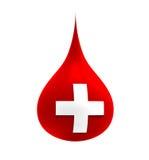 Gota de sangre Foto de archivo libre de regalías