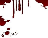 Gota de sangue isolada Imagem de Stock Royalty Free