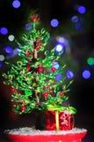 Gota del abeto de la Navidad Imagenes de archivo