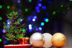 Gota del abeto de la Navidad Fotografía de archivo libre de regalías