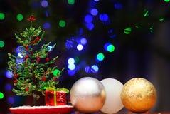 Gota del abeto de la Navidad Foto de archivo