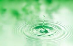 Gota del agua Imágenes de archivo libres de regalías