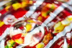 Gota del agua Imagen de archivo libre de regalías