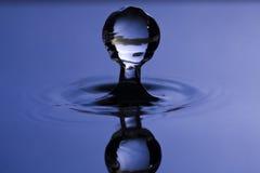Gota del agua Foto de archivo