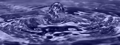 Gota del agua Foto de archivo libre de regalías