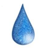 Gota del agua stock de ilustración