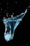 Gota del hielo Fotografía de archivo libre de regalías