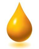 Gota del petróleo Foto de archivo libre de regalías