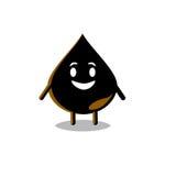 Gota del petróleo Imagen de archivo