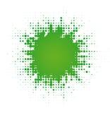Gota digital abstrata Imagens de Stock