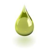 Gota do óleo Fotografia de Stock