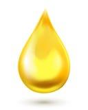 Gota do óleo Ilustração do vetor ilustração stock