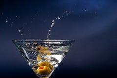 Gota do cocktail Foto de Stock Royalty Free
